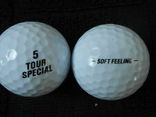 "20 ""TOUR SPECIAL""-""BLACK SOFT FEELING"" by SRIXON -Golf Balls-""MINT/PEARL""Grades."