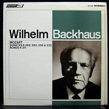 WILHELM BACKHAUS mozart sonatas LP Mint- CS 6534 UK FFRR Vinyl 1967 Record