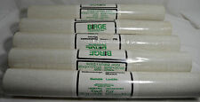 Older Birge Wallpaper Canvas Beige 27707 29A 5 NEW Rolls 70 sq ft Each Washable