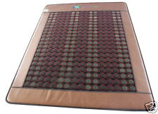 Queen Size Natural Jade & Tourmaline Negative Ions InfraRed Heating Energy Pad