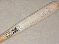 Eric Hinske H&B M9 Maple Game Used Bat Toronto Blue Jays Atlanta Braves