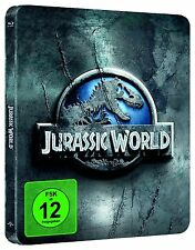 JURASSIC WORLD (Chris Pratt) Blu-ray Disc, Steelbook NEU+OVP