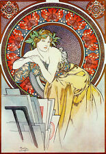 Art Deco - Alphonse Mucha - The Art Rack - A3 Art Poster Print