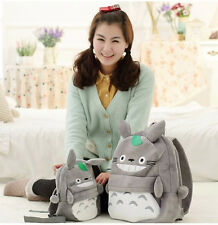 Cute My Neighbor Totoro Cartoon Soft Plush Backpack Shoulder Bag for Kids Gift