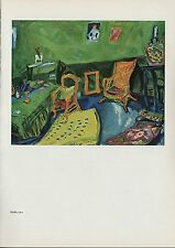 "1963 Vintage ""STUDIO, 1910"" by MARC CHAGALL COLOR Art Plate Lithograph"