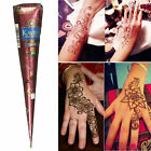 Brown Natural Herbal Henna Body Art Paint Cones Temporary Tattoo Mehandi ink