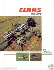Farm Equipment Brochure - Claas - Hay Tools Disc Mower Conditioner et al (F2959)