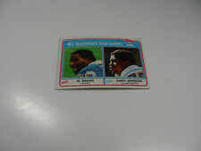 Al Baker/Gary Johnson1981 Topps NFL QB Sack Leaders card #3