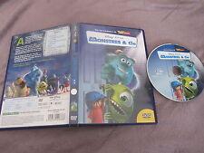 Monstres & Cie de Peter Docter, DVD, Animation/Walt Disney/Pixar