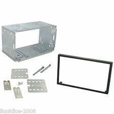CLARION 100mm NX702E REPLACEMENT DOUBLE DIN  CAGE KIT SURROUND RADIO HEADUNIT
