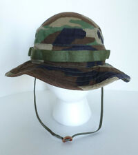 Propper Army US Military Green Camouflage Camo Hot Weather 100% Cotton Bush Hat