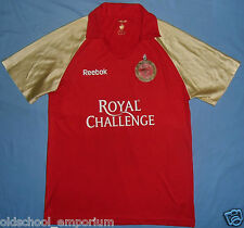 Royal Challengers Bangalore / REEBOK - VTG MENS CRICKET Shirt / Jersey. L / XL