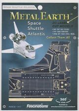 Fascinations Metal Earth 3D Model - Space Shuttle Atlantis NEW FREE SHIPPING