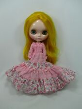 Blythe Outfit Handcrafted long sleeve dress basaak doll # 790-69