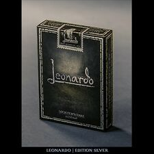 Leonardo (Silver Edition) by Legends Playing Card Company Poker Spielkarten
