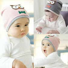 Unisex Cotton Beanie Hat For New Born Child Baby Boy/Girl Soft Toddler Cap Cute