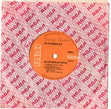 "ELVIS PRESLEY - HEARTBREAK HOTEL - EP 7"" 45 VINYL RECORD 1975"