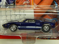 Johnny Lightning Calendar Series # 5/2005 FORD GT MOMC Dark Blue AWESOME Power *