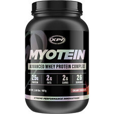 Whey Protein Powder 2lb (Choc) BUILD MUSCLE Whey Protein Concentrate MYOTEIN