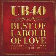 UB40 - BEST OF LABOUR OF LOVE  CD 17 TRACKS POP / REGGAE COMPILATION NEU