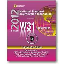 W31 National Standard Journeyman Mechanical Study Questions Workbook ICC Exam