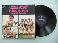 Simion Stanciu - Flute De Pan, France '74, LP, Vinyl: m-