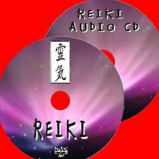 SCOPRI reiki GUARIGIONE SPIRITUALE DVD Guide + Rilassante CD AUDIO Inc 3 min Campanelli Nuovo