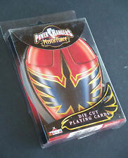 SEALED ~ The POWER RANGERS Mystic Force Die-Cut Playing Cards