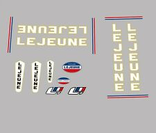 Lejeune Bicycle Decals, Transfers, Stickers n.30