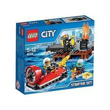 LEGO CITY 5-12 ANNI POMPIERI FIRE STARTER SET  ART 60106