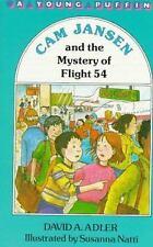 Cam Jansen and the Mystery of Flight 54 (Cam Jansen #12)