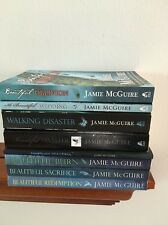 Lot of 8 Books by Jamie McGuire ~ Entire Beautiful Disaster Series