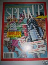 MAG SPEAK UP N°37 1990 HARLEM YESTERDAY AND TODAY