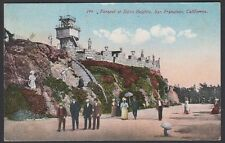U.S., 1912. Pan Pacific Expo Post Card, Sutro Heights, 2