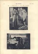 1893 el señor e Burne-Jones en la Galería Nuevo