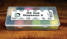 ICE Dub II Dispenser DUB23 Hareline U.S.A.  12 Farben ICE Dubbing Dispenser
