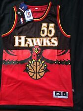 Dikembe Mutombo Throwback Atlanta Hawks Jersey Size Large