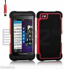 32nd Dual-Layer Shockproof Case Blackberry Phones + Screen Protector & Stylus
