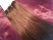 "18""HUMAN WEAVE 100G #6 BEAUTIFUL INDIAN REMY STRAIGHT HAIR"