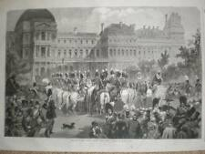 Paris France Serenade Tuilieries New Year's Eve 1853