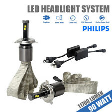 H4/9003 90W 11700LM PHILIPS LED Headlights Kit For Toyota Camry/Corolla/Sienna