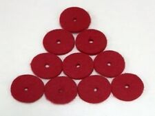SPOOL PIN FELTS RED 10 PACK - SINGER 15 CLASS 8879 RED
