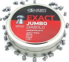 JSB Exact JUMBO Pellets .22 Air Rifle Target Shooting Caliber 5.52