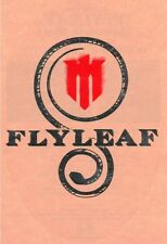 FLYLEAF Ltd Ed Discontinued RARE Sticker +FREE Rock Stickers! SKILLET FIREFLIGHT