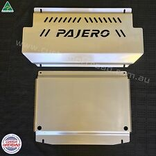 Custom Offroad NM-NW Pajero Intercooler Stainless Sump Guard Bash Plate