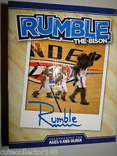 "Oklahoma City Thunder 2013-2014 ""Rumble"" Mascot Kids Club Bobblehead Bobble AGP"