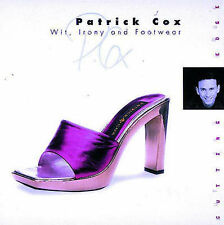 Patrick Cox: Wit, Irony and Footwear (The Cutting Edge),VERYGOOD Book
