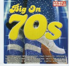 (EA370) Big On 70s, 10 tracks various artists - 2005 News of the World CD
