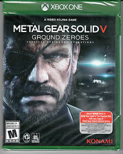 Metal Gear Solid V: Ground Zeroes (Microsoft Xbox One, 2014) *NEW*