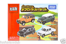 TOMY Tomica Gift Set Drive to Tomica Gift mountain! Off road car set Jeep
